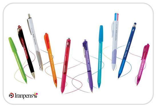 خودکار با جوهر آبی یا مشکی