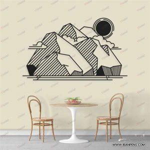 تابلو دیواری زانکو کد ZA118