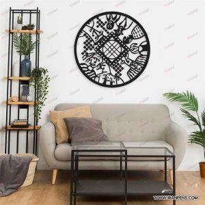 تابلو دیواری زانکو کد ZA111