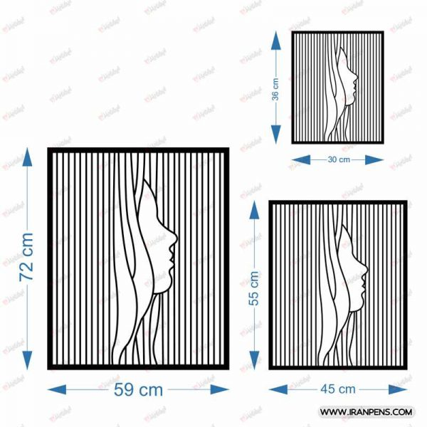 تابلو دیواری زانکو کد ZA109