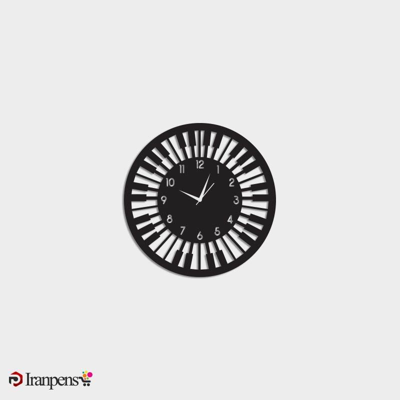 ساعت دیواری چوبی ZA174