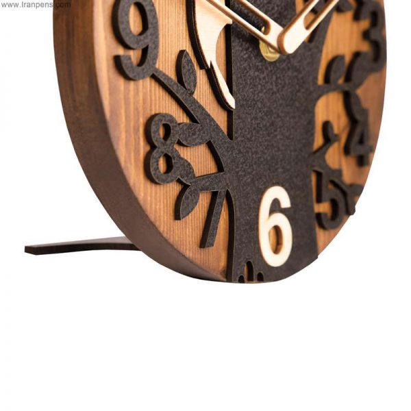 ساعت چوبی رومیزی زانکو Za103
