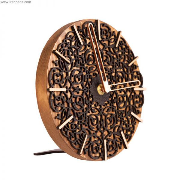 ساعت چوبی رومیزی زانکو Za104