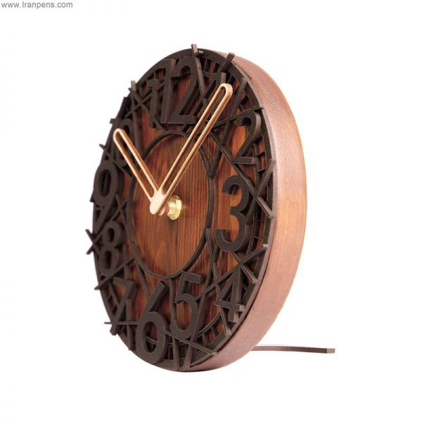 ساعت چوبی رومیزی زانکو Za106