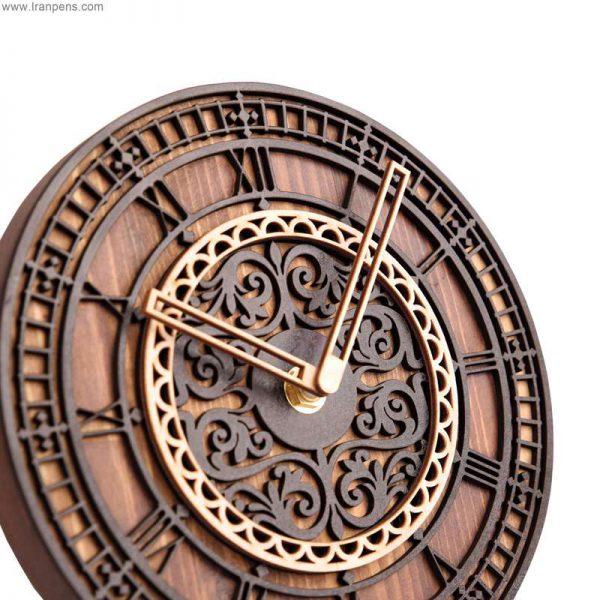 ساعت چوبی رومیزی زانکو Za108