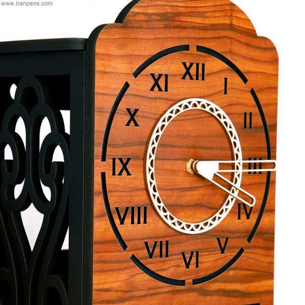 ساعت چوبی دیواری زانکو Za110