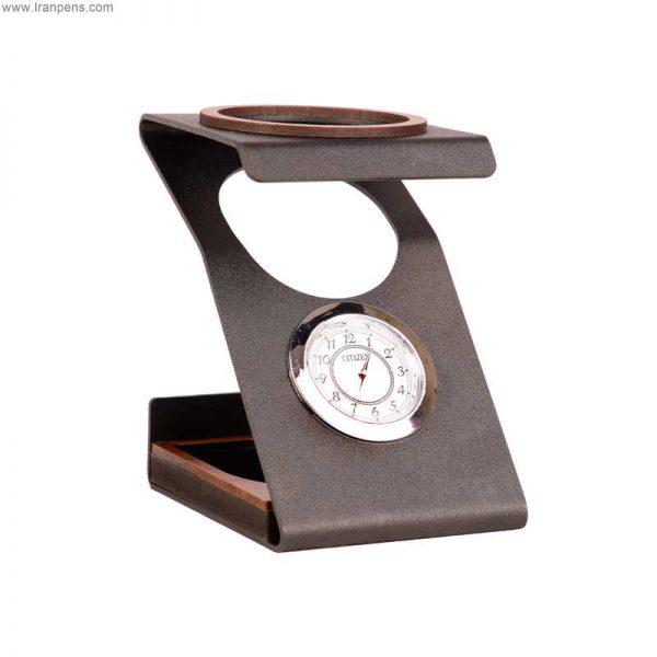 جاقلمی ساعت دار فلزی زانکو Za112