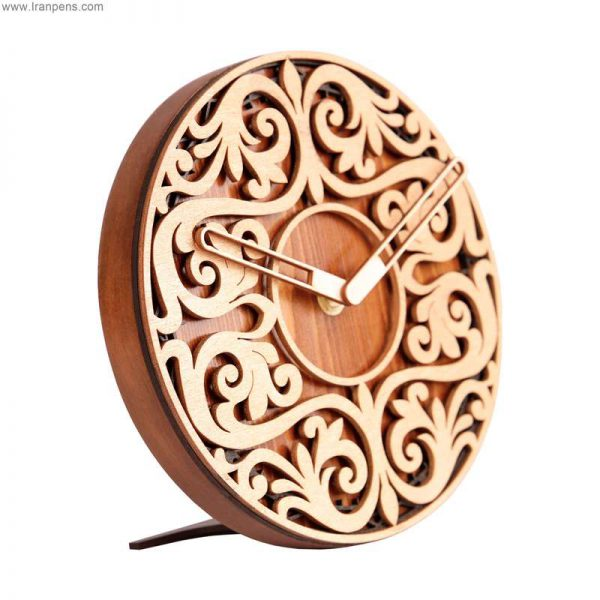 ساعت چوبی رومیزی زانکو Za102