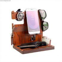استند رومیزی چوبی – جای موبایل چوبی
