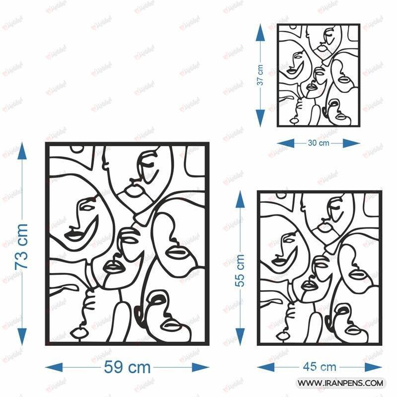 تابلو دیواری زانکو کد ZA156