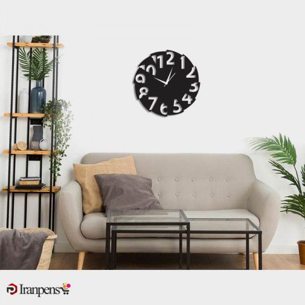 ساعت دیواری چوبی ZA136