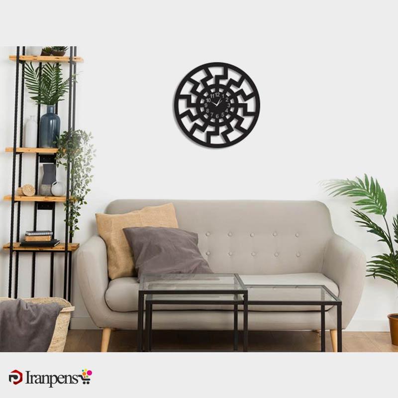 ساعت دیواری چوبی ZA152