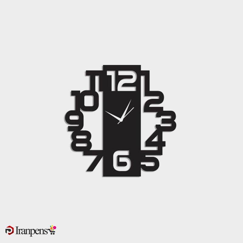 ساعت دیواری چوبی ZA163