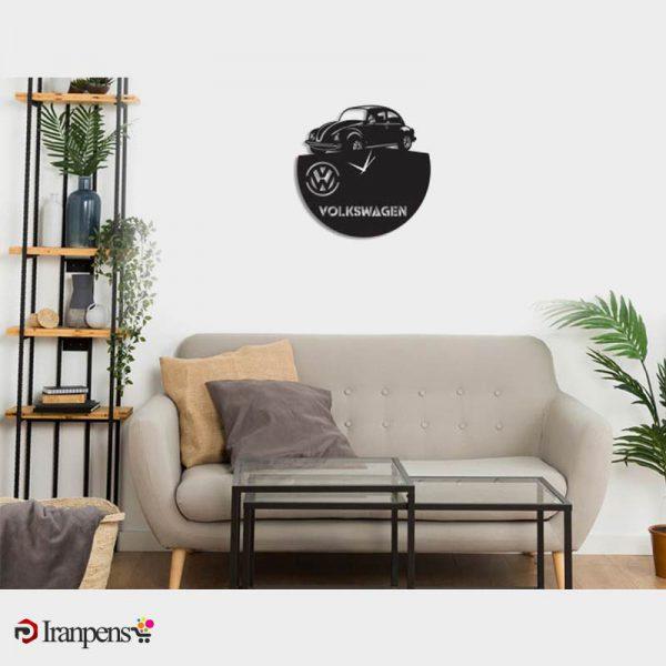 ساعت دیواری چوبی ZA171