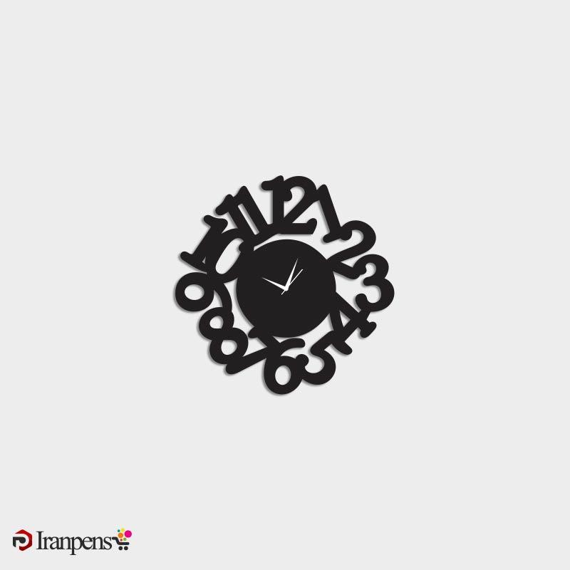 ساعت دیواری چوبی ZA173