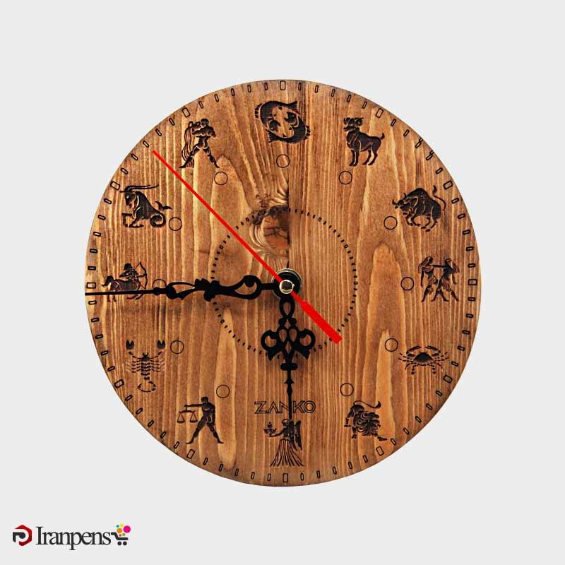 ZA206ساعت رومیزی چوبی